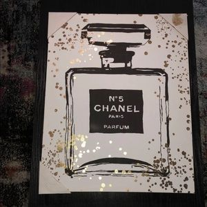 Chanel canvas painting